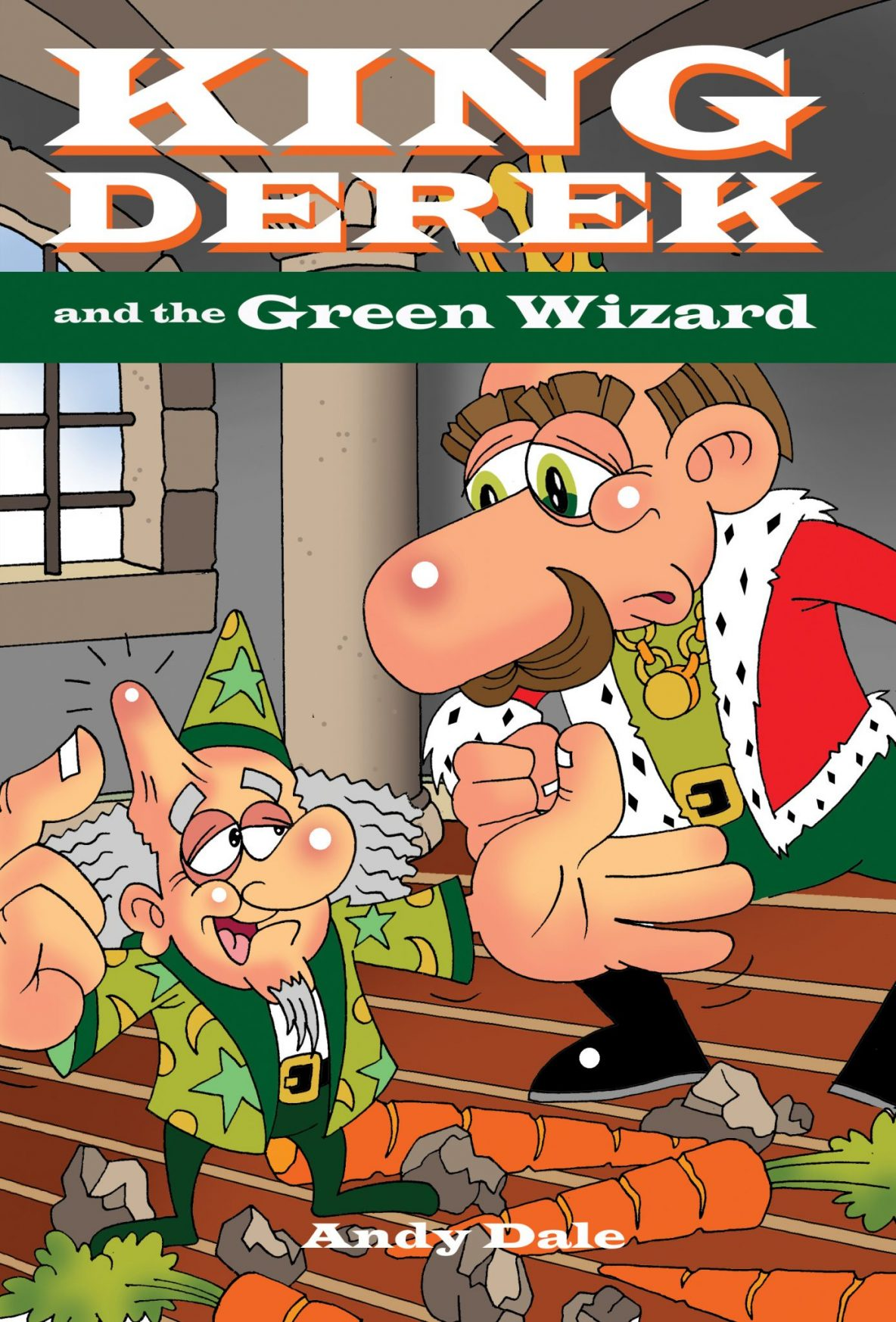 King Derek and the Green Wizard