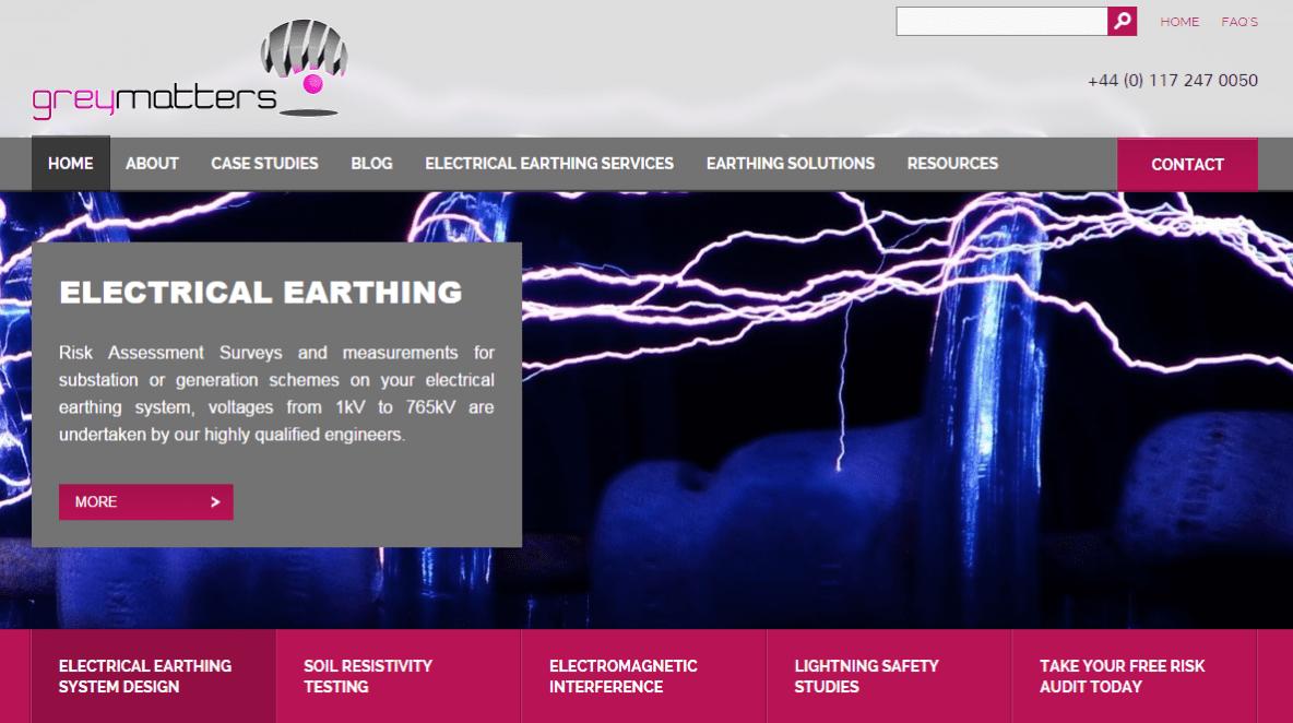 GreyMatters Website Image