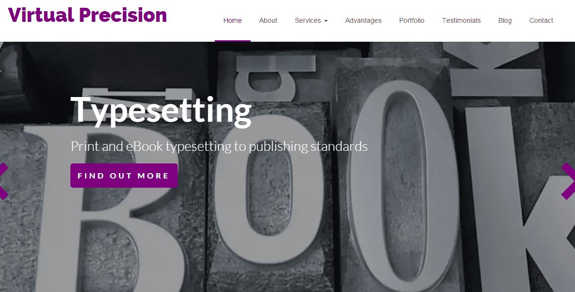 Virtual Precision Wordpress