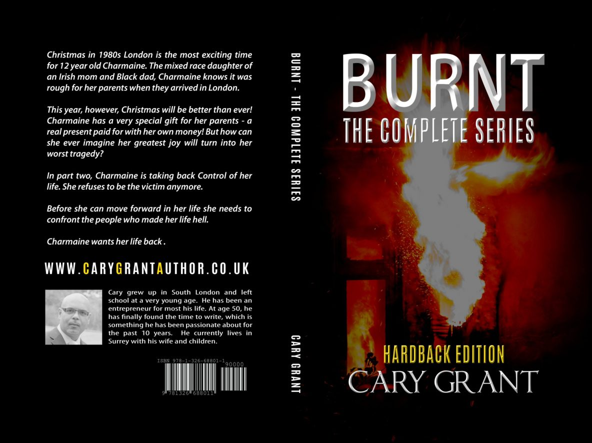 Burnt - The Complete Series Book Cover Design