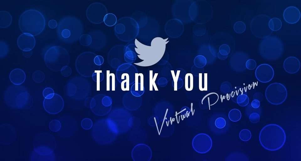 Thanks Twitter
