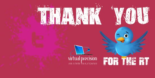 Twitter Thank You forthe RT PURPLE SATURDAY