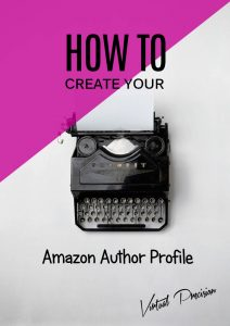 How to Create your Amazon Author Profile