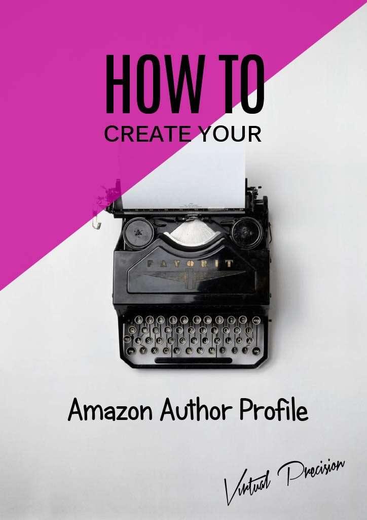How to Create your Amazon Author Profile