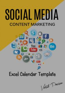 Social Media Content Marketing Calendar
