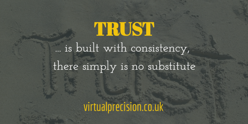 Trust by Virtual Precision