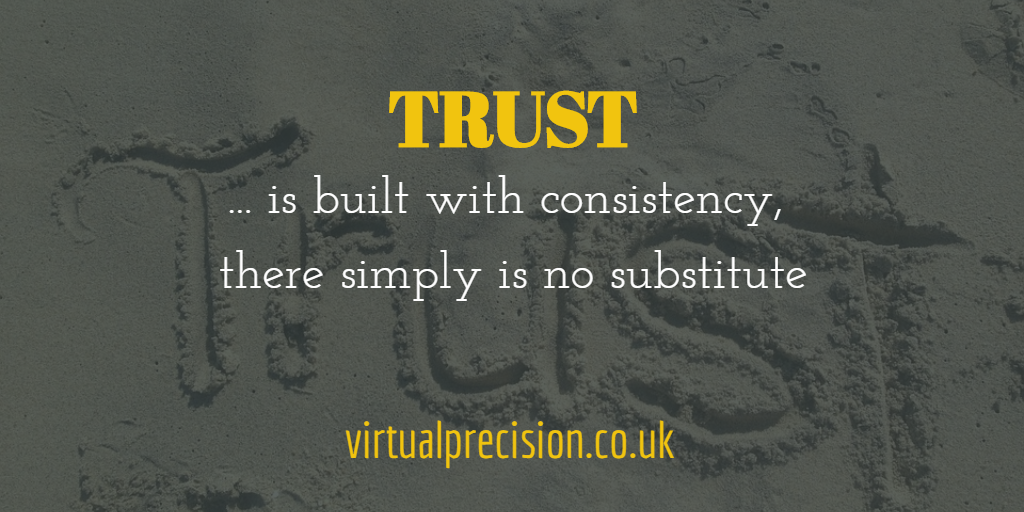 Trust by Virtual Precision