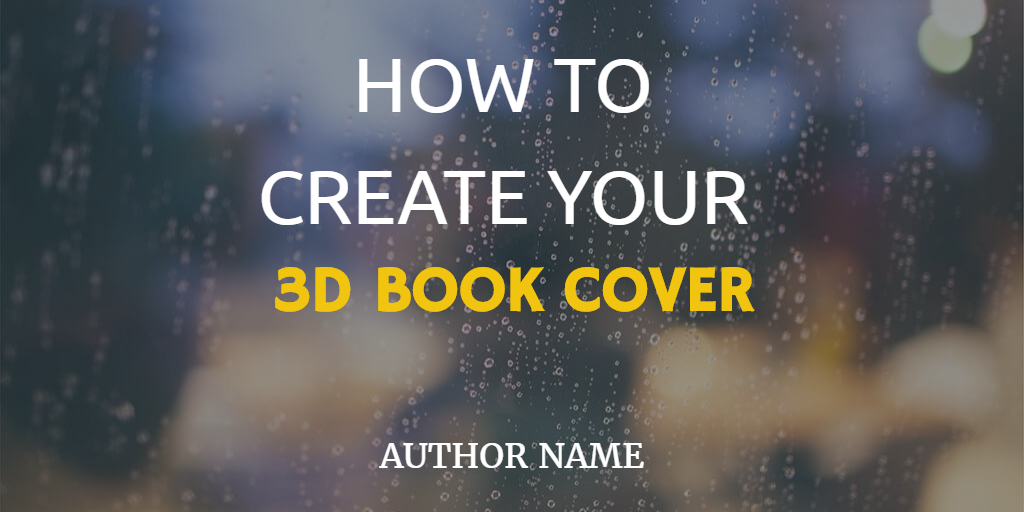 How to Create your FREE 3D Book Cover