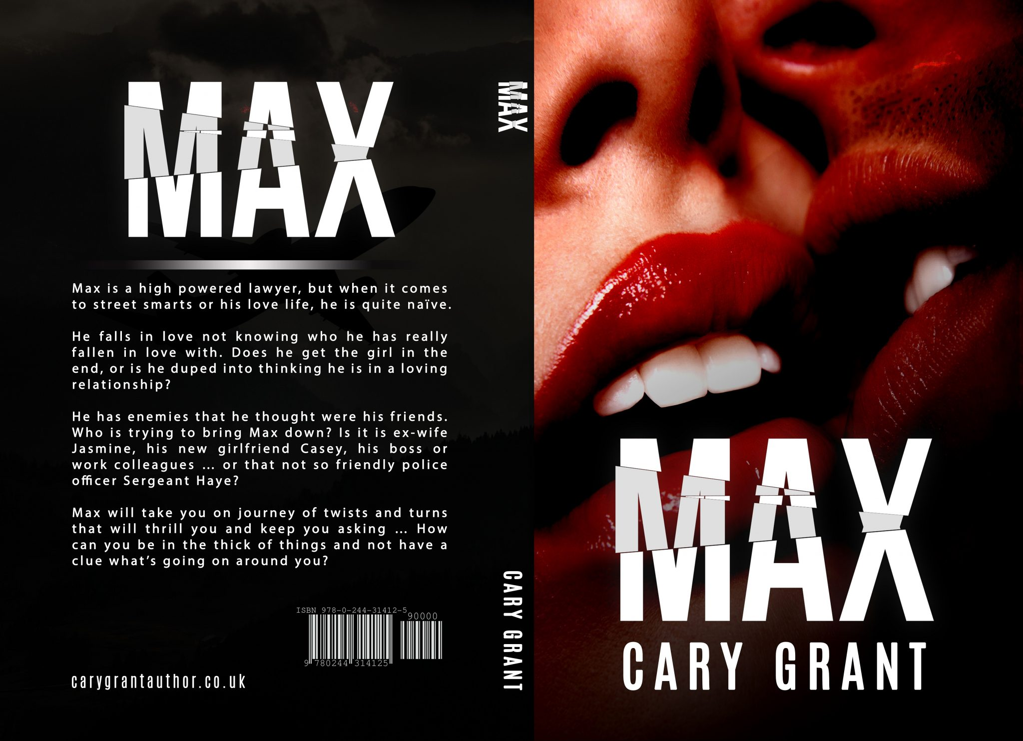 MAX - The latest novel by Cary Grant