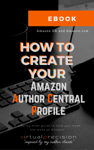 How to Create your Amazon Author Central Profile EBOOK